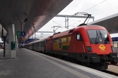ÖBB / GySEV/ROEEE 1116.064 in Wien Hbf