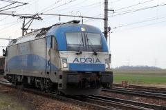 "Adria Transport 1216.921 ""Tamara"" in Gramatneusiedl"