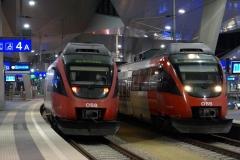 4124.013 als S80 bzw. 4124.033 als S60 in Wien Hbf