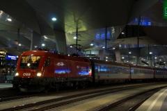 1116.160 mit EN 466/237 in Wien Hbf