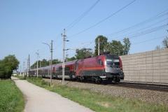 1116 237 mit railjet539 in Theresienfeld (6025)