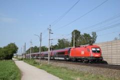 1116 160 mit railjet656 in Theresienfeld (6038)
