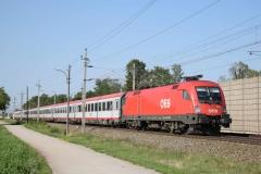 1116 128 mit EC1259 in Theresienfeld (6065)