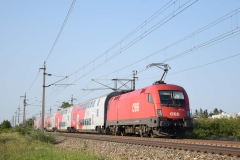1116 079 mit R2354 in Theresienfeld (6078)