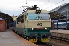 CD 150 209 mit Rx606 in Praha hl.n. (0276ps)