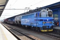 CD 230 096 mit Güterzug in Breclav (1316ps)