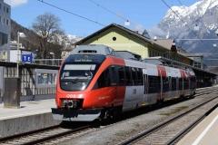 4024 004 mit S3 25713 in Bischofshofen (7053)