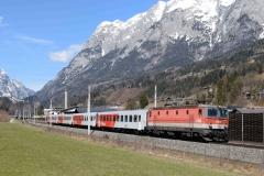 1116 070 mit REX1516 in Pfarrwerfen (7077)
