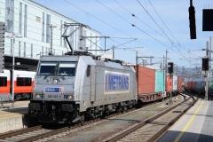 MT 386 007 mit TEC41501 in Linz Hbf (7157_md)