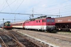 ZSSK 163 105 mit Os8807 in Cierna nad Tisou (7622_md)