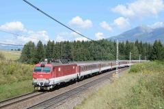 ZSSK 350 006 mit R601 in Strba (7778)