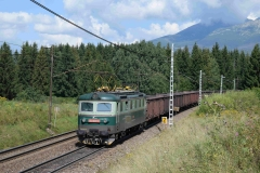 ZSSKC 131 020/019 und schiebende 183 038 mit Nex bei Strba (7788_md)