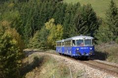EBB 5081 563 und 5081 565 als Zug 91500 bei Vordernberg St. Laurenti (180014)
