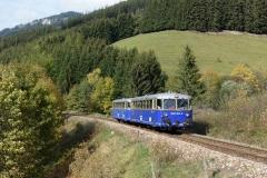 EBB 5081 563 und 5081 565 als Zug 91500 bei Vordernberg St. Laurenti (180020)