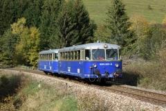 EBB 5081 563 und 5081 565 als Zug 91500 bei Vordernberg St. Laurenti (180023)