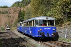 EBB 5081 565 und 5081 563 als Zug 11000 am Erzberg (8577)