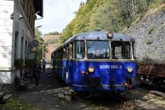 EBB 5081 565 und 5081 563 als Zug 11000 am Erzberg (8579)