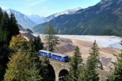 EBB 5081 565 und 5081 563 als Zug 11000 am Hochbruckengrabenviadukt (8529b)