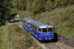 EBB 5081 565 und 5081 563 als Zug 11000 auf Höhe Almhäuser (8466)