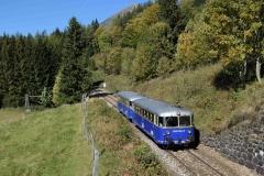 EBB 5081 565 und 5081 563 als Zug 11000 auf Höhe Almhäuser (8468b)