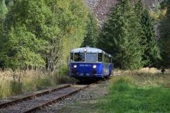 EBB 5081 565 und 5081 563 als Zug 11000 bei der ehem. Hst Feistawiese (8565)