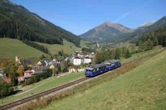 EBB 5081 565 und 5081 563 als Zug 11000 bei Vordernberg (8400)