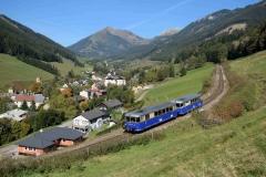 EBB 5081 565 und 5081 563 als Zug 11000 bei Vordernberg (8431b)