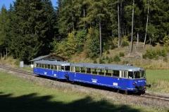 EBB 5081 565 und 5081 563 als Zug 11000 im Bereich Präbichl (8501)
