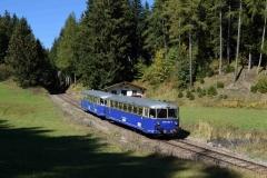 EBB 5081 565 und 5081 563 als Zug 11000 im Bereich Präbichl (8502)