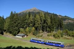 EBB 5081 565 und 5081 563 als Zug 11000 im Bereich Präbichl (8506b)