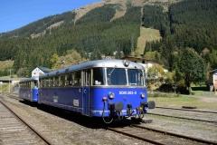 EBB 5081 565 und 5081 563 mit Zug 11000 im Bahnhof Präbichl (8511)