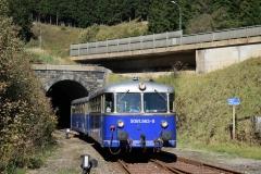EBB 5081 565 und 5081 563 mit Zug 11000 im Bahnhof Präbichl (8514)