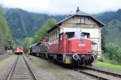 EBB 603 010 mit Zug 91300 am Erzberg (8128)