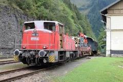 EBB 603 010 mit Zug 91300 am Erzberg (8137)