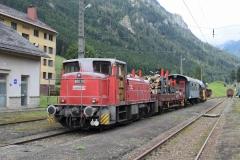 EBB 603 010 mit Zug 91300 in Vordernberg (8153)
