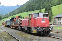 EBB 603 010 mit Zug 91300 in Vordernberg (8158b)