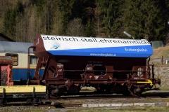 EBB Schotterwagen in Vordernberg Süd (7228)