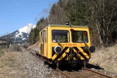 EBB X626 126 mit Arbeitszug im Bereich Schönauhalde (7209)