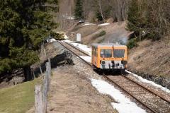 EBB X626 185 als Lokzug im Bereich Glaslbremse (7199)