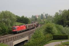 1116.267 mit Güterzug in Eugendorf