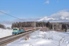 "ZSSK 350.004 ""Hugo"" mit RR 764 ""Cassovia"" in Štrba"
