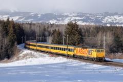 RegioJet 162.113 mit RJ 1003 in Štrba