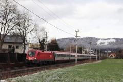 """1116.178 mit EC 113 """"Blauer Enzian"""" in Salzburg Süd"""