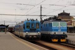 ČD 842.020 + ČD 362.084 in České Budějovice