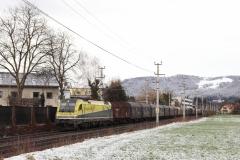 CargoServ 1216.932 + 1216.931 in Salzburg Süd