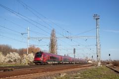 """80-90.731 mit RJ 76 """"Vindobona"""" in Velim"""
