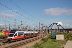 4124.028 mit S60 in Wien Zentralverschiebebahnhof