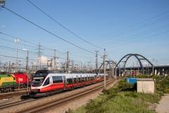 4124.014 + 4124.xxx in Wien Zentralverschiebebahnhof